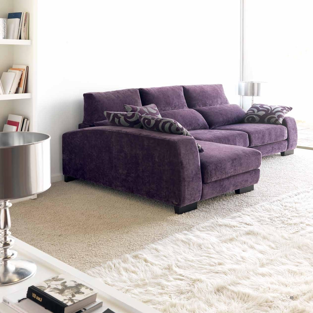 Sofá Estepona Charm púrpura