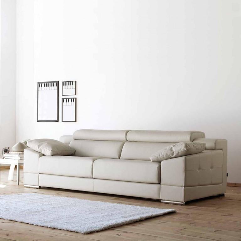 Gran sofá con posibilidad chaise-longue 4 plazas o 3 plazas configurable, modelo Estepona Schaflen