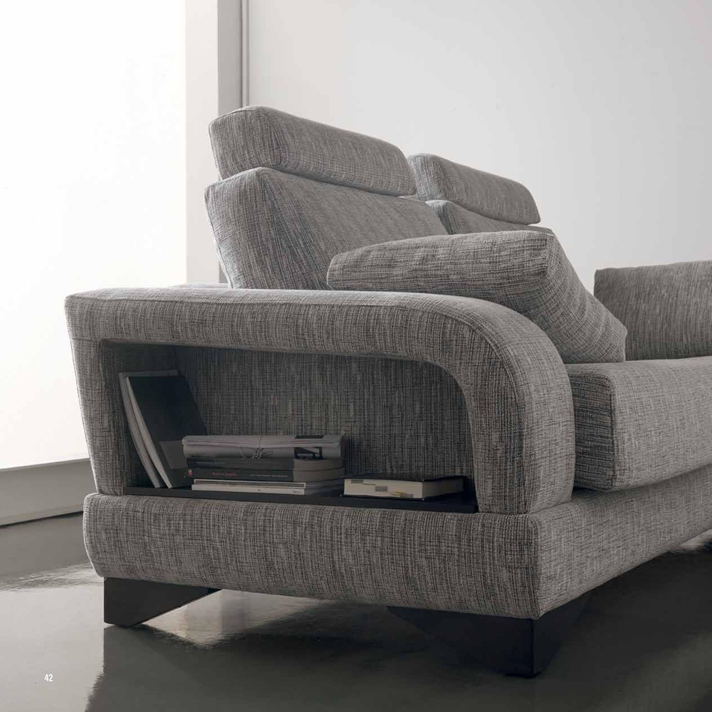 Sofa multifuncional en tela lavable