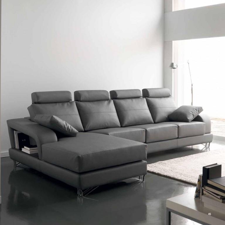 Sofa multifuncional en piel