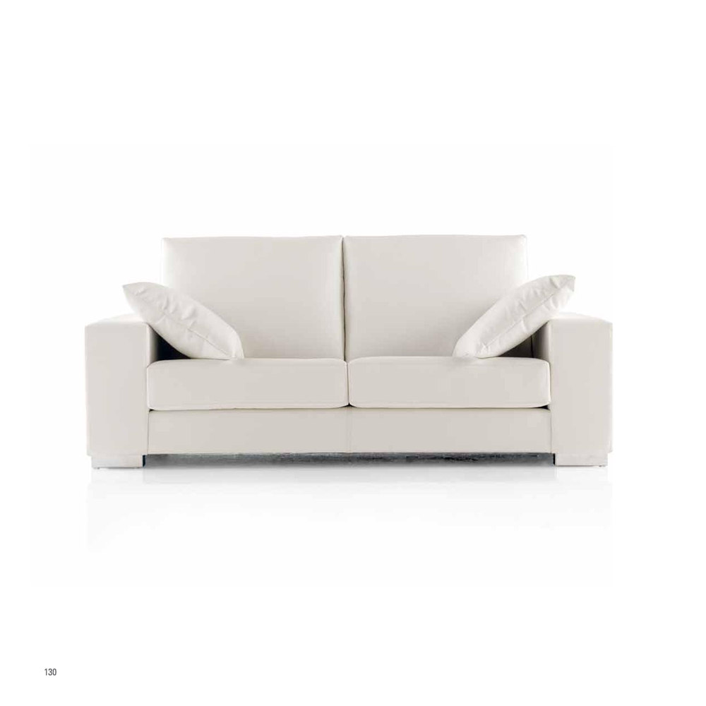 Sofá funcional en color blanco