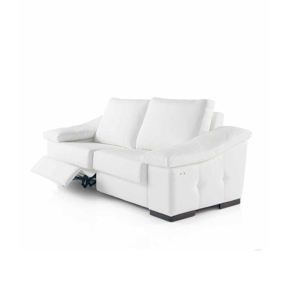 Compacto de líneas modernas color blanco