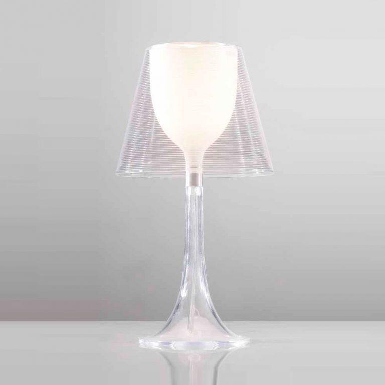 Lámpara sobremesa Metacrilato E27 1x40w