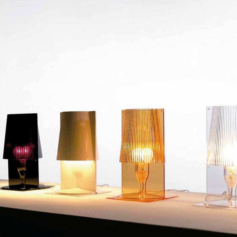 Lámpara sobremesa Acrílica E14 1x20W