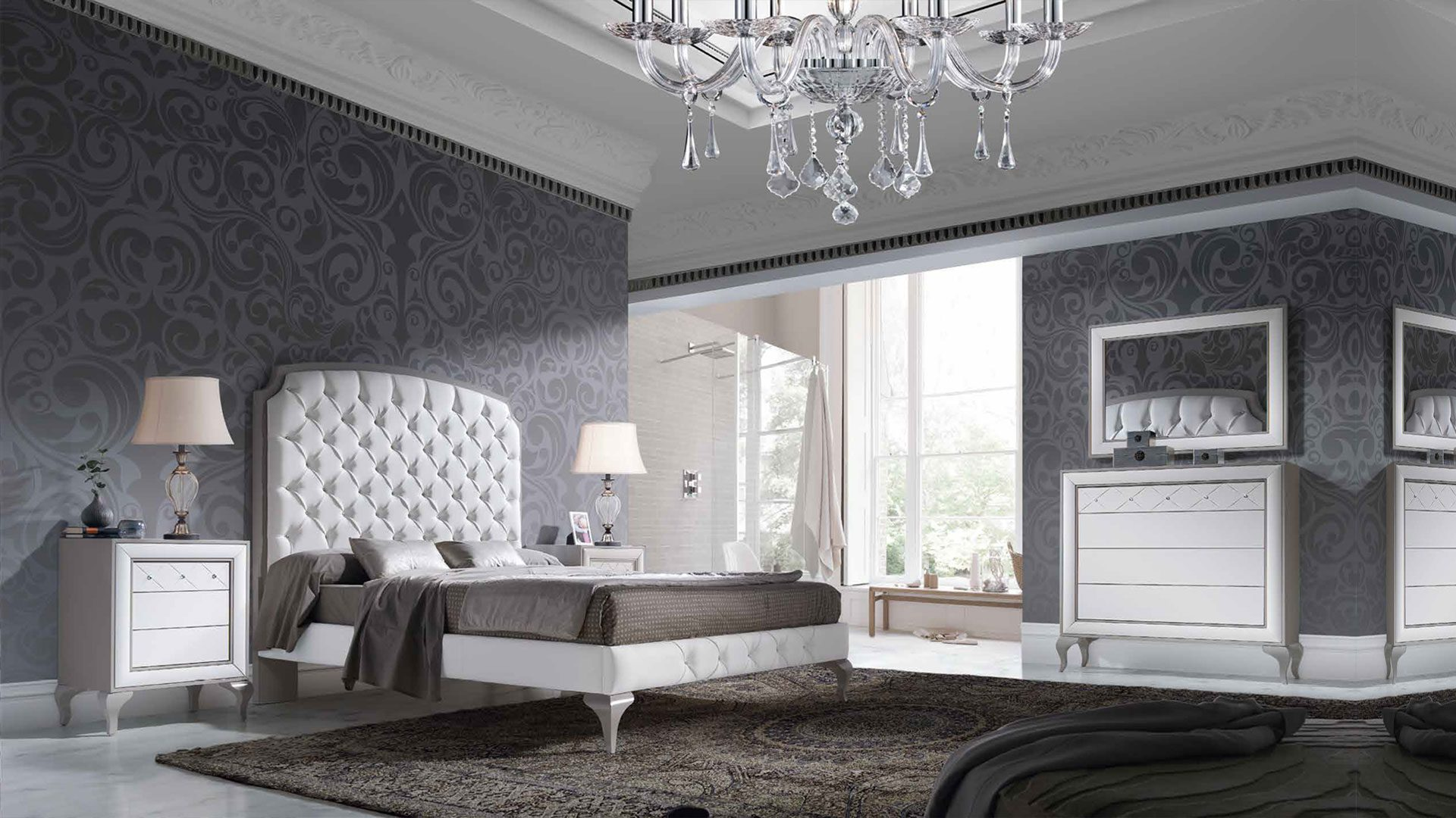 Dormitorios en Estepona, catálogo renacent